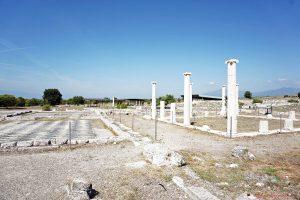 sito archeologico di pella nei dintorni di salonicoo