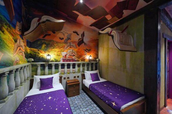 stanza del gardaland magic hotel