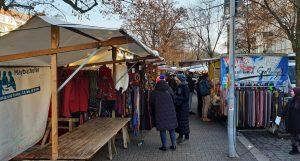 mercato turco di Maybachufer, nel quartiere dove è ambientato uno dei libri su berlino: Salam Berlino.