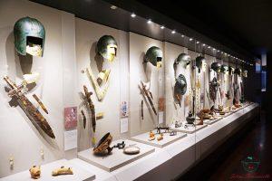 armature al museo di pella