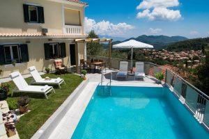 Villa Amolena è uno dei luoghi dove alloggiare a lefkada. Foto da Booking.com.