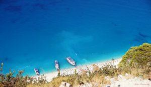 Egremni è una delle spiagge più belle di lefkada