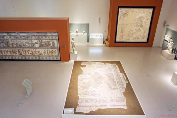 mosaici al museo archeologico di patrasso