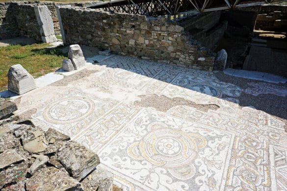 mosaici di stobi