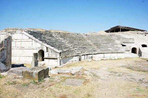 teatro romano di stobi