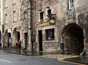 toolboth tavern pub di edimburgo