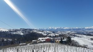 panorama langhe in inverno
