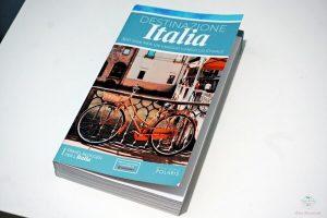 copertina del libro destinazione italia edito da polaris