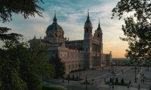 la cattedrale dell'almudena, madrid