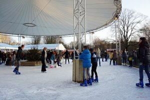 pista di pattinaggio IJsvrij Festival di rotterdam