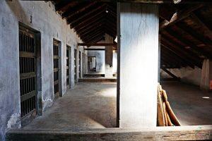celle d'isolamento del campo di concentramento di nis in serbia
