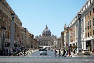 basilica di san pietro da via della concordia