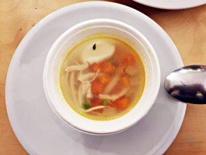 zuppa di pollo, ricetta con avanzi di veronica geraci