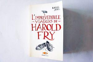 copertina di hrold fry di rachel joyce, uno dei libri sui viaggi on the road