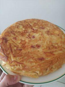 frittata di maccheroni napoletana