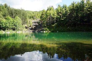 lago delle lame, uno dei laghi in liguria da visitare