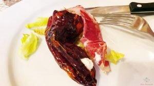 peperone crusco ripieno de la fadda rossa, ristorante dove mangiare a matera