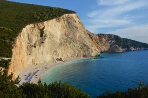porto katsiki, spiaggia da cui vedere uno dei più bei tramonti di lefkada
