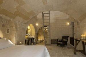 camera dell'hotel diffuso a matera corte san pietro