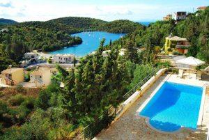 niirides luxury apartments a sivota. Foto da Booking.com.