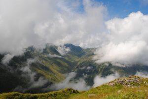 panorama sulle montagne del friuli © bagaglio leggero