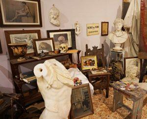 Sala del Museo dell'Accademia Linguistica di Belle Arti.