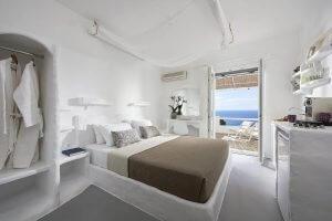vista mare a provatas, uno dei migliori hotel dove alloggiare a milos