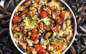 patate riso e cozze, da assaggiare in puglia durante un viaggio enogastronomico in italia in estate. © In giro con Angela.