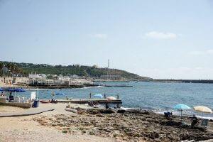 spiaggia di santa maria di leuca, vicino a gagliano del capo