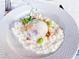 Risotto dello chef Massimiliano Celeste.