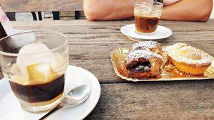 caffè leccese a colazione